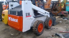 shanghai used condition skid steer loader Bobcat 185 for sale in excellent working condition