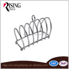 Chrome Plated 6 slice Victoriam Style toast rack