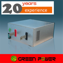 600A export to Europe, USA 12v anodized aluminum rectifier with dsp digital