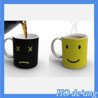HOGIFT Creative ceramic mug/wake up Monday mug/color changing mug
