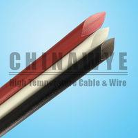 Silicone rubber insulation fiberglass braid sleeve