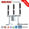 Safety Interlocks 3150A 145KV SF6 Electrical Circuit Breaker