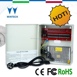 120W 18 channel 12V DC CCTV camera switching power supply