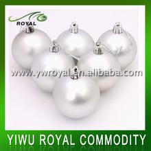 Popular Hanging Plastic Christmas Ball Ornament