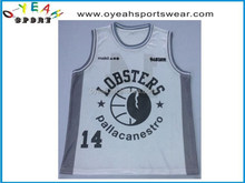 Custom sublimation basketball tops with high quality