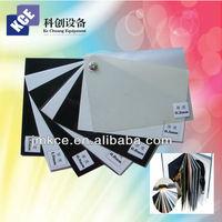 Album materials pvc sheets black or white