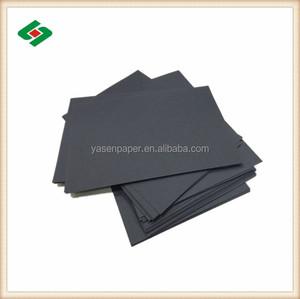 Siyah kurulu 80gsm 1500gsm için siyah kraft kağıt
