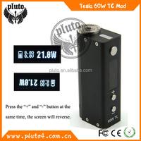 Best quality pluto tesla box mod 60w TC mod box kit