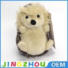 Wholesale cute stuffed animal hedgehog, baby hedgehog plush toy for crane machine