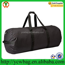Promotional 600D polyester round sport duffle bag