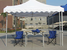 10x10 outdoor commercial promotional hexagon aluminum frame folding tent pop up canopy