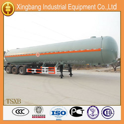 2015 new designed lpg gas delivery truck trailer for sale