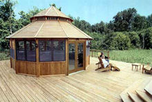 outdoor wood garden pavilion for sale