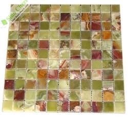 Newstar kitchen tile backsplash onyx