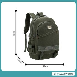 good quality hot sale canvas backpack floral dye canvas backpack