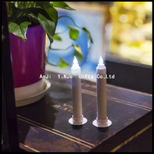 Brand New LED Taper Candles, small set of 2, 4.5-Inch