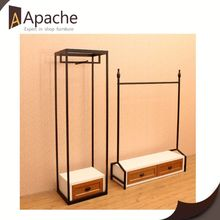 Professional manufacture factory directly retail shop display furniture for bedding set cabinet