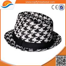 Top quantity plaid straw hats/folding straw hat/cheap straw hat