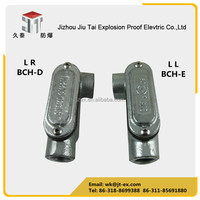Custom electrical cable conduit fittings with different types of C/T/X/LR/LL/LB/TB casting steel explosion proof conduit body