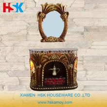 nuevo diseño para el hogar de la resina de la chimenea
