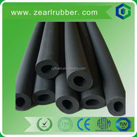 Wear resistance NBR rubber sponge heat insulation flexible pipe/tube for air conditioner