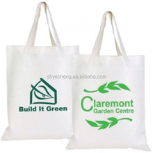custom wholesale manufacturer promotional natural cotton canvas tote bag