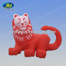 2015 hot sale inflatable mighty tiger,cute inflatable cartoon, vivid inflatable animal model