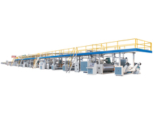High speed 3ply 5ply 7ply corrugated cardboard production line/machinery/equipments