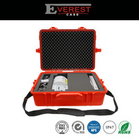 IP67 Rugged Trolley Durable Equipment case Hard Plastic Waterproof Equipment Tool Case With foam