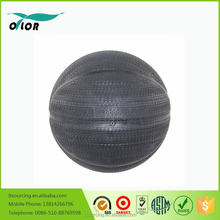 Promotional cheap inflatable natural rubber basketball