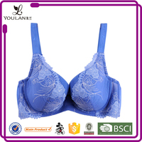 Wholesale Lovely Best Push Up Sheer Underwire Bra