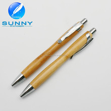 2015 new design eco friendly cheap promotional wooden ball pen