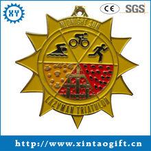 Pintado lazyman triatlón placa trofeo <span class=keywords><strong>premio</strong></span> medallón