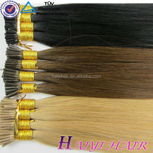 Wholesale Remy Double Drawn Stick/I Tip Pre Bonded Hair