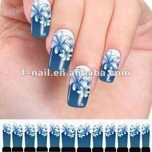 2012 new nail tattoo sticker water nail art sticker