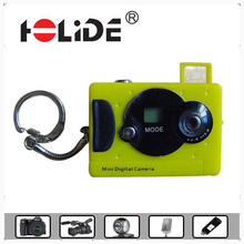 mini toy,practical,adornment style digital photo camera with TN display,key chain,1*AAA alkline battery