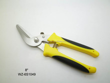 NEW DESIGN garden scissors with Curved blade