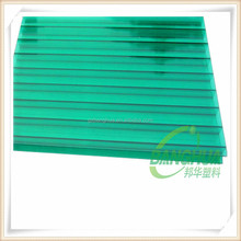 6mm twin wall greenhouse roof polycarbonate hollow sheet