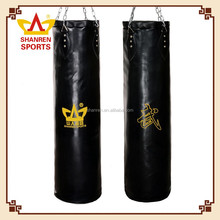 Solid Leather Heavy Boxing Punching Bag/sandbag