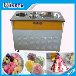 Low Noise Good Mobile Fry Ice Cream Machine