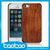Mobile accessories laser engraving custom design Plastic wooden cell phone case for iphone case wood factory price