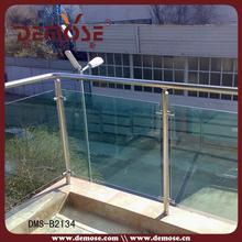 outdoor porch used laminated glass hand rails fittings