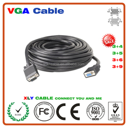 Top Quality Best price High Definition Blue Head Vga Cable 30M