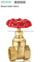 SS10102 Brass chain wheel gate valve