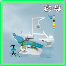 (MSLDU03) New adjustable dental chair saddle chair with cure light delivery system has high quality best price