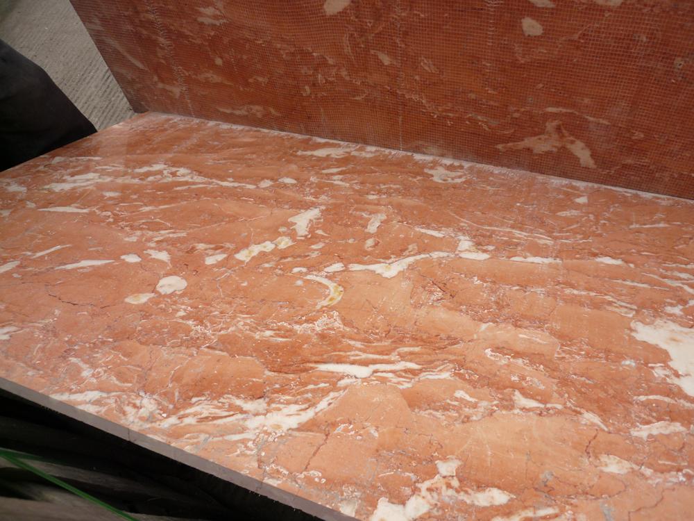 Rosa de alta calidad portugal m rmol rosa rosa precio de for Marmol de carrara rosa