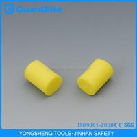 GuardRite Brand Foam Earplugs Bulk Earplugs Boxed Cylindrical Shape Earplug