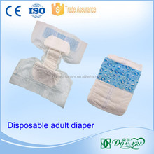 Incontinence adult diaper products ultra thin hot sale wetness indicator printed adult diaper