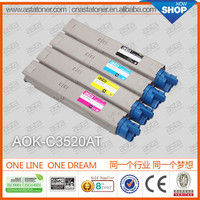 c3520 industrial photocopier machine toner for oki refillable cartridge for oki toner cartridge