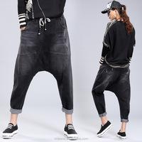 GZY 2015 the newest fashion metal garment ladies jeans kurta wholesale